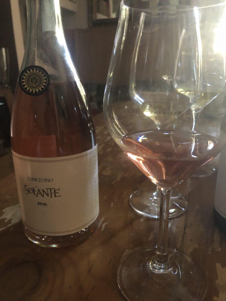 Solante 2019 Rose' DOP di Codice Vino