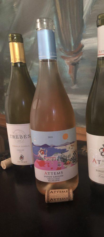 Dal Friuli Pinot Grigio Ramato 2019 di Tenuta Attems