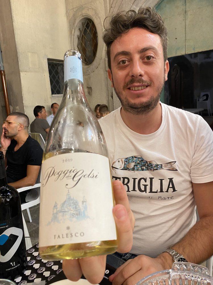 Casa Mito - Mirko Balzano e il vino Poggio dei Gelsi Cantina Falesco