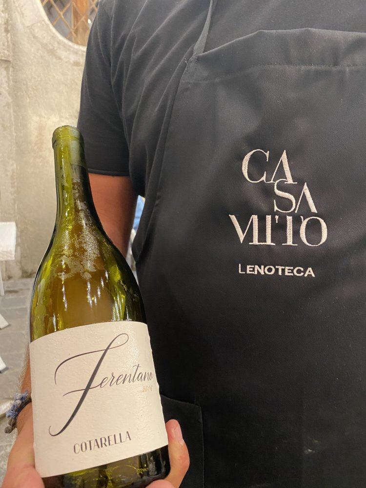Casa Mito - vino Ferentano Cantina Falesco Famiglia Cotarella