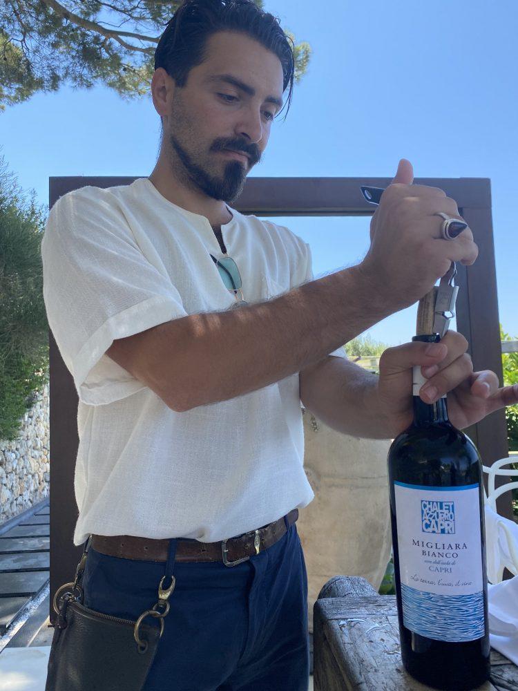 Chalet Azzurro Capri - Alessandro Fiorillo, enologo - Piccirillo winemakers