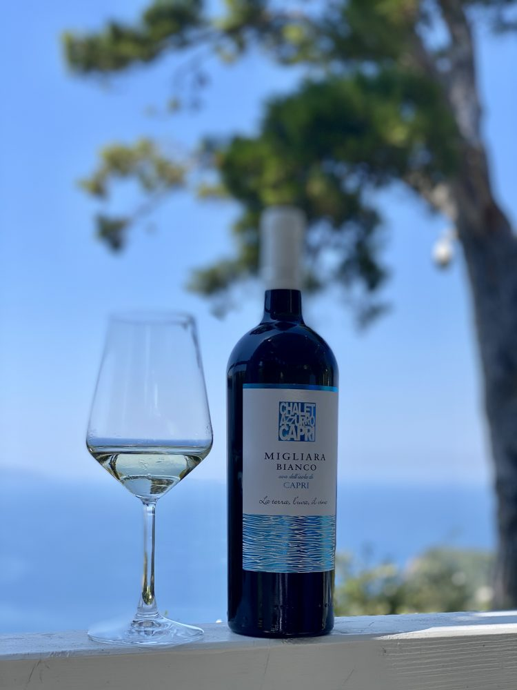 Chalet Azzurro Capri - Migliera bianco