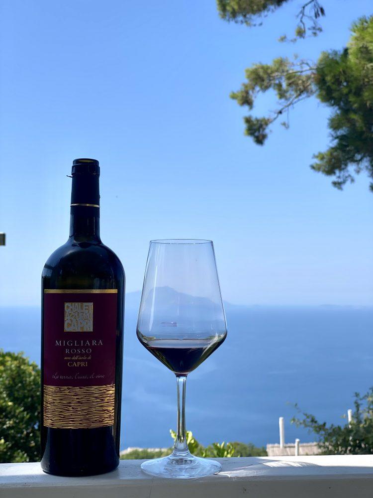 Chalet Azzurro Capri - Migliera rosso
