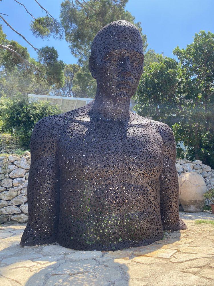 Chalet Azzurro Capri - opere d'arte contemporanea