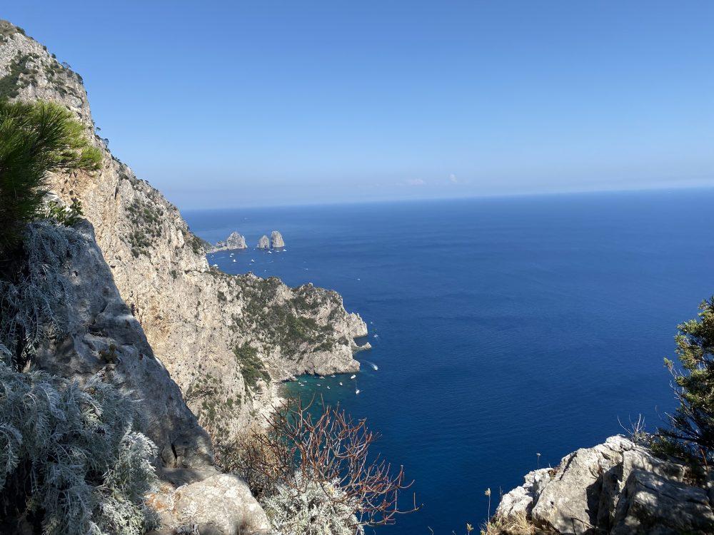 Chalet Azzurro Capri - panorama
