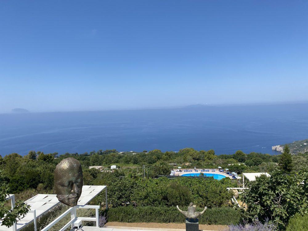 Chalet Azzurro Capri - vigneti e mare