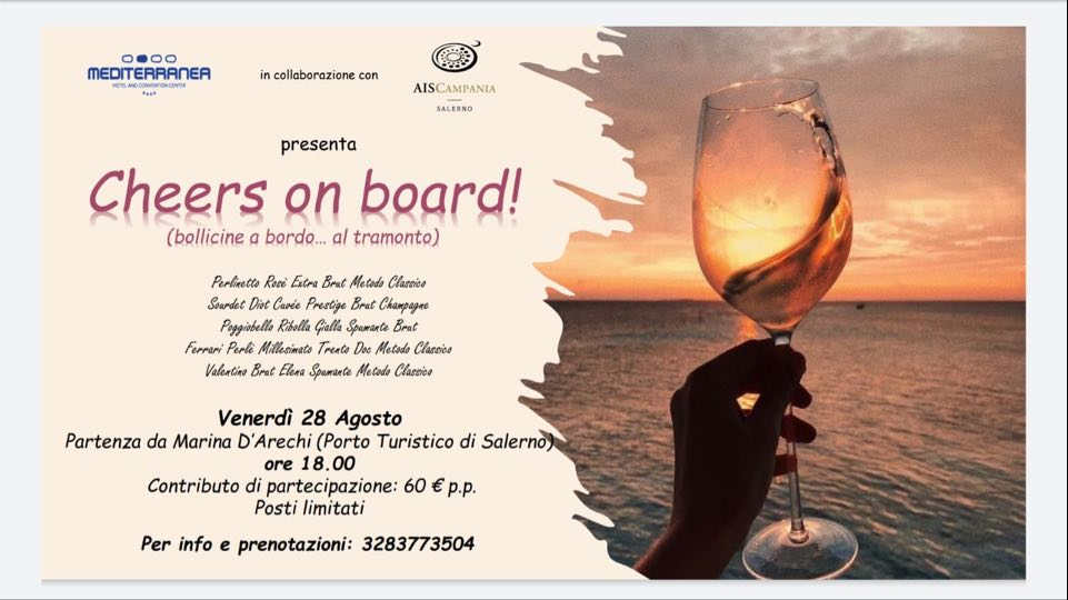 Cheers on board, la locandina