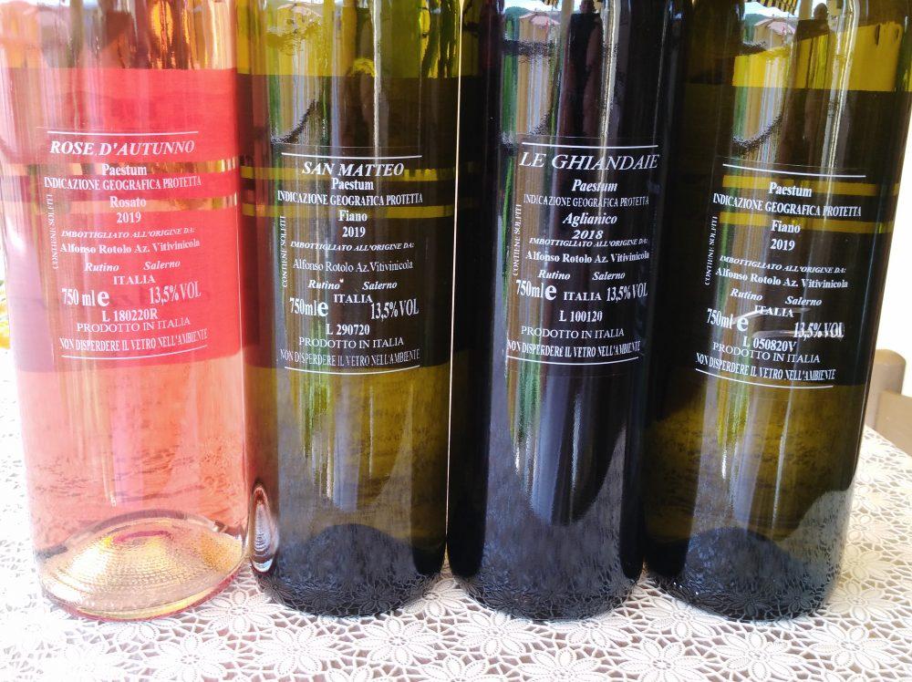 Controetichette vini Alfonso Rotolo
