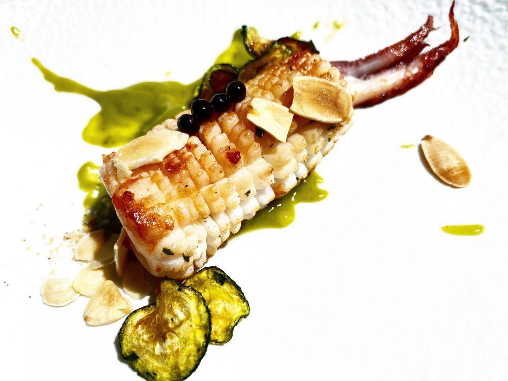 Da Tonino - Il Calamaro con le Zucchine alla Scapece