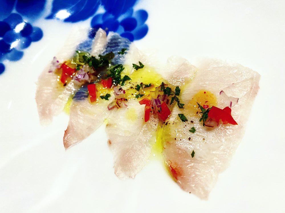 Sashimi di Ricciola Giapponese