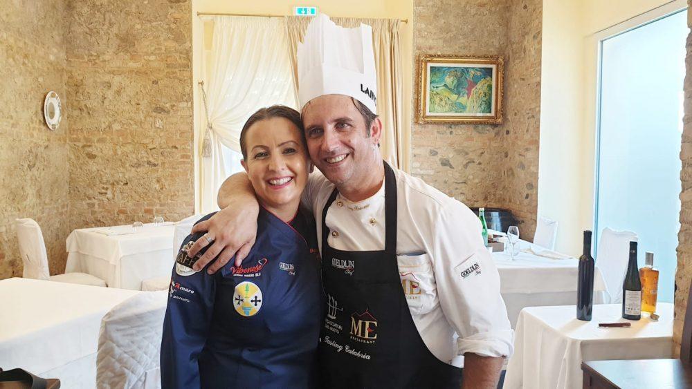Giuseppe Romano e Eleonora Marcello