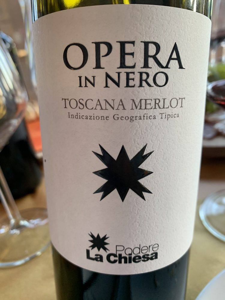 Opera in Nero Toscana Merlot IGT 2017