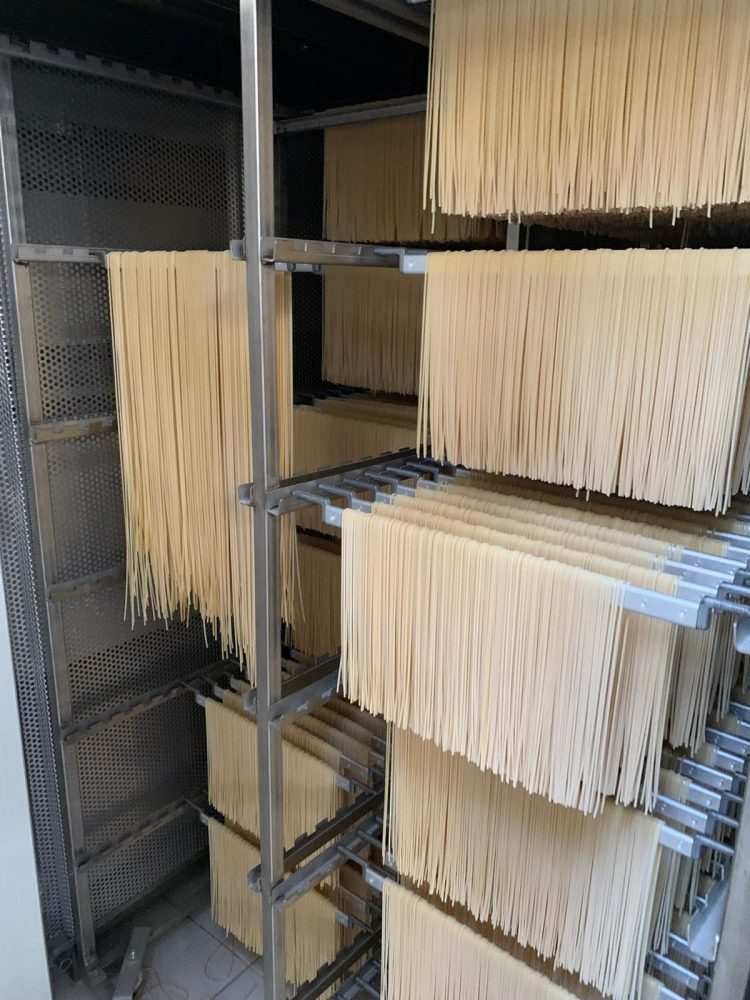 Pastificio Graziano - fase di essiccazione della pasta