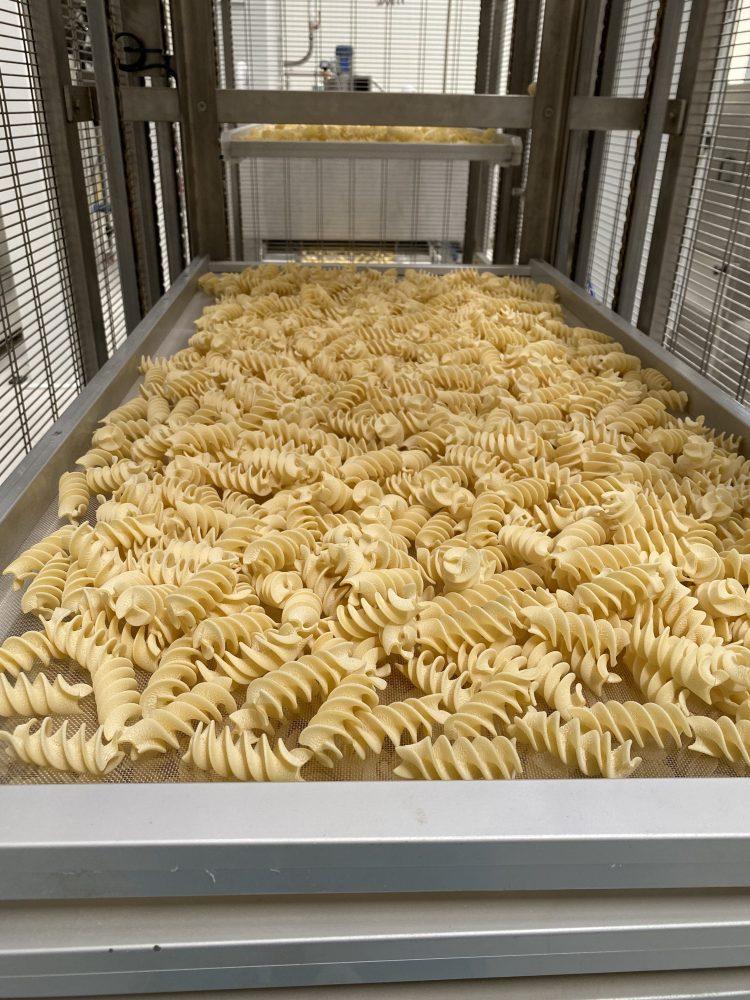 Pastificio Graziano - lavorazione della pasta