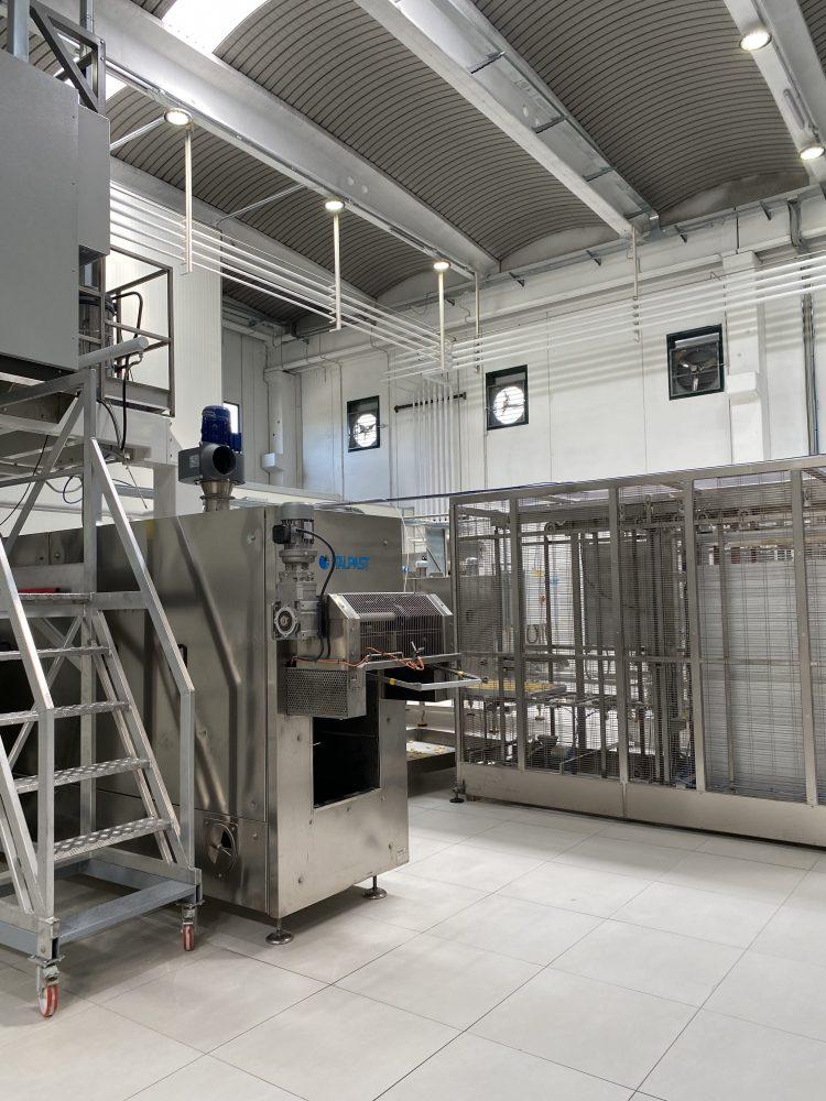 Pastificio Graziano - reparto produzione
