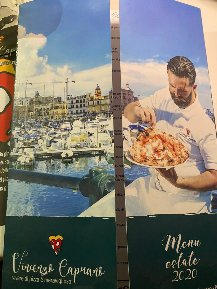 Pizzeria Vincenzo Capuano Pozzuoli - menu'