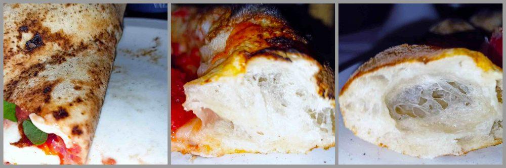 Pomodoro e Basilico - Cornicione e cottura