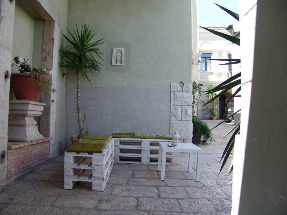 Ristorante Al Baliaggio - Area esterna con giardino riservato