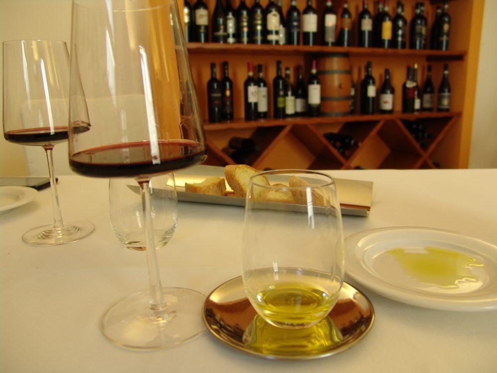 Ristorante Al Baliaggio - Assaggio di olio EVO