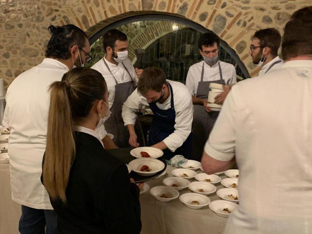 Spessore campo base - gli Chef al lavoro