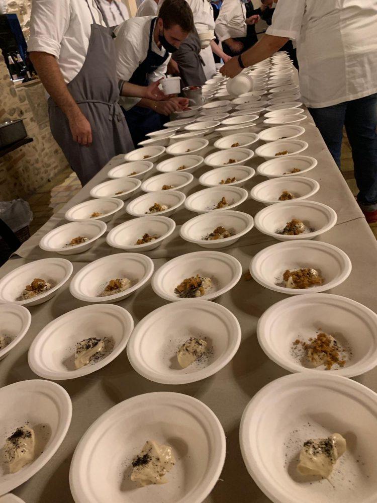 Spessore campo base - i piatti