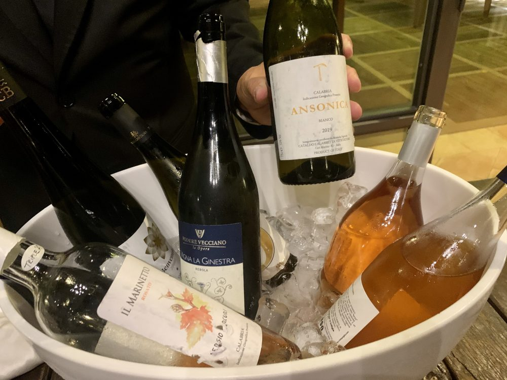 Spessore campo base i vini