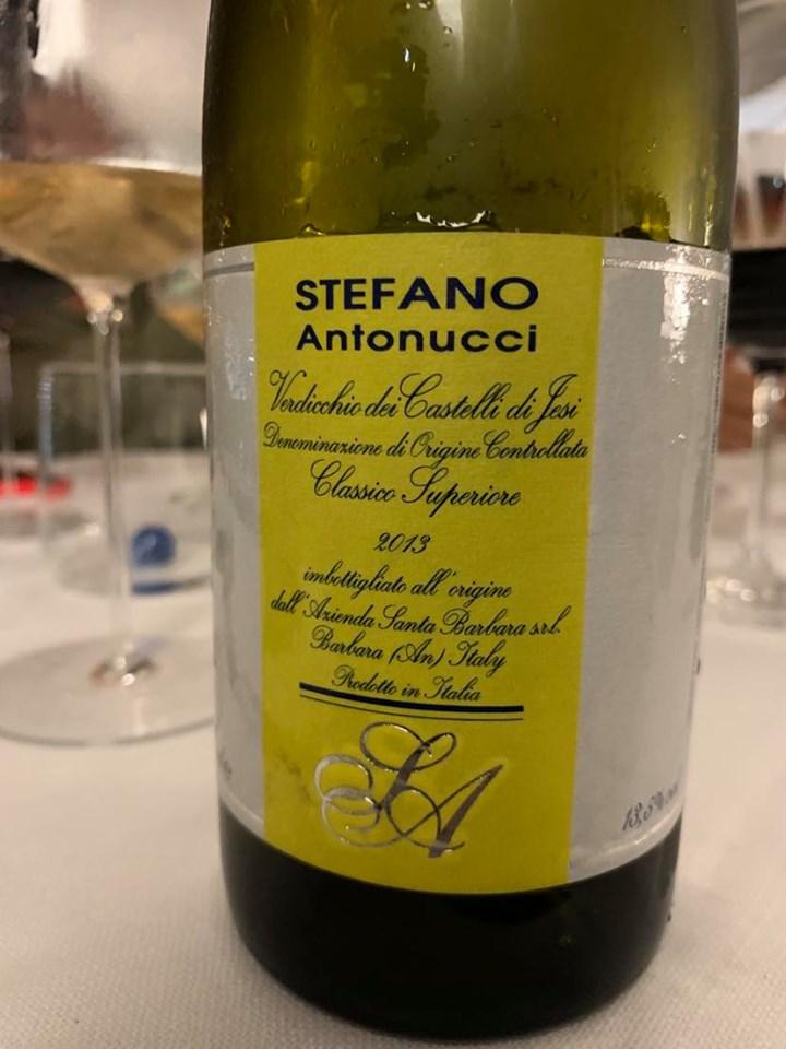 Verdicchio di Jesi Stefano Antonucci