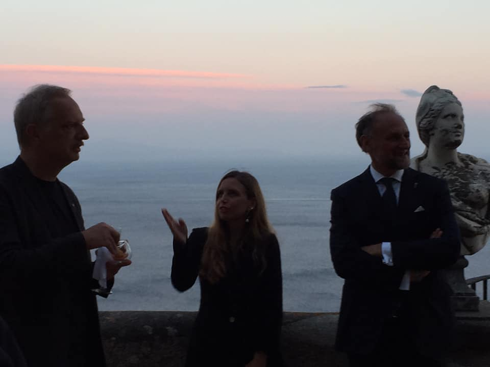 Villa Cimbrone, Giorgio Vuilleumier con Antonio Scurati