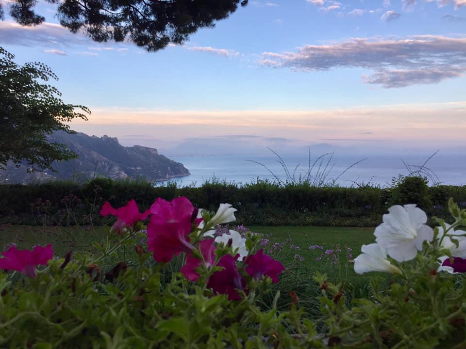Villa Cimbrone, scorcio dei giardini
