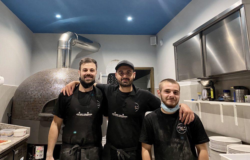 Vino e Biga - Marco Pece, Luigi Santagata e collaboratore