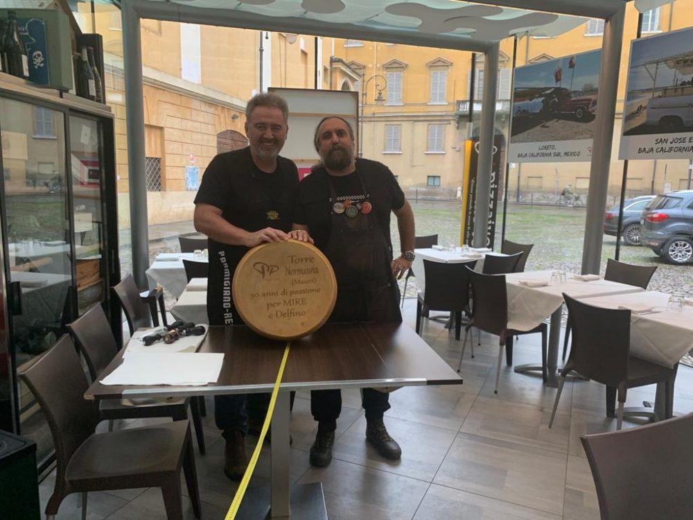 Associazione Pizza Tramonti - parmigiano