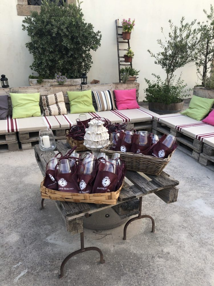 Degustazione estiva dei vini Barone Sergio