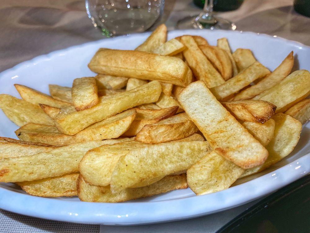 Heraion, patate fresche fritte