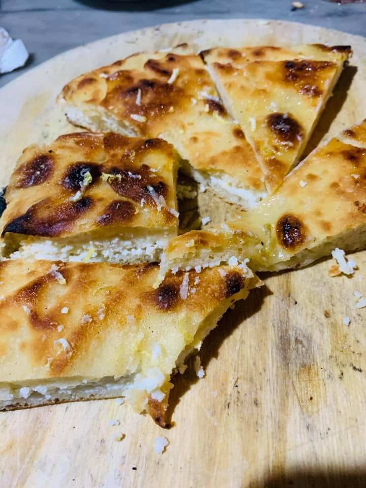Pane e Salute, la pizza con la ricotta