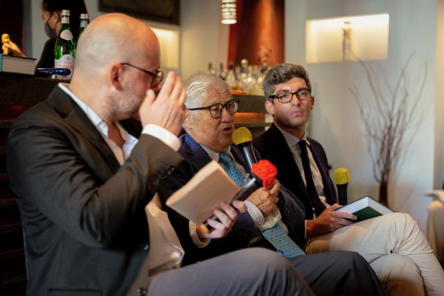 Da sinistra - Carlo Passera, Maurizio Campiverdi, Manfredi Maretti