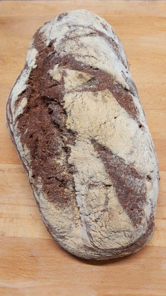 Pane di campagna -nocciola e cacao