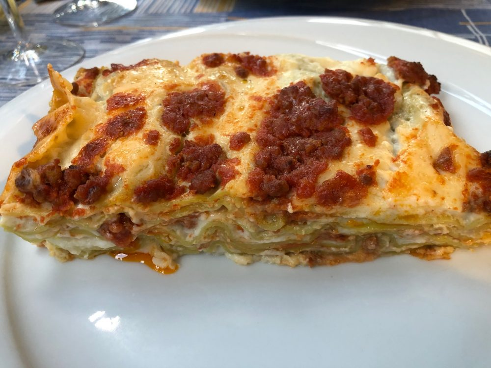 Rosmarino - Lasagne verdi alla romagnola