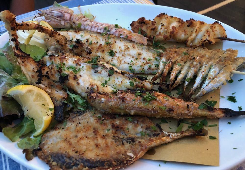 Rosmarino - Grigliata mista, pescato locale