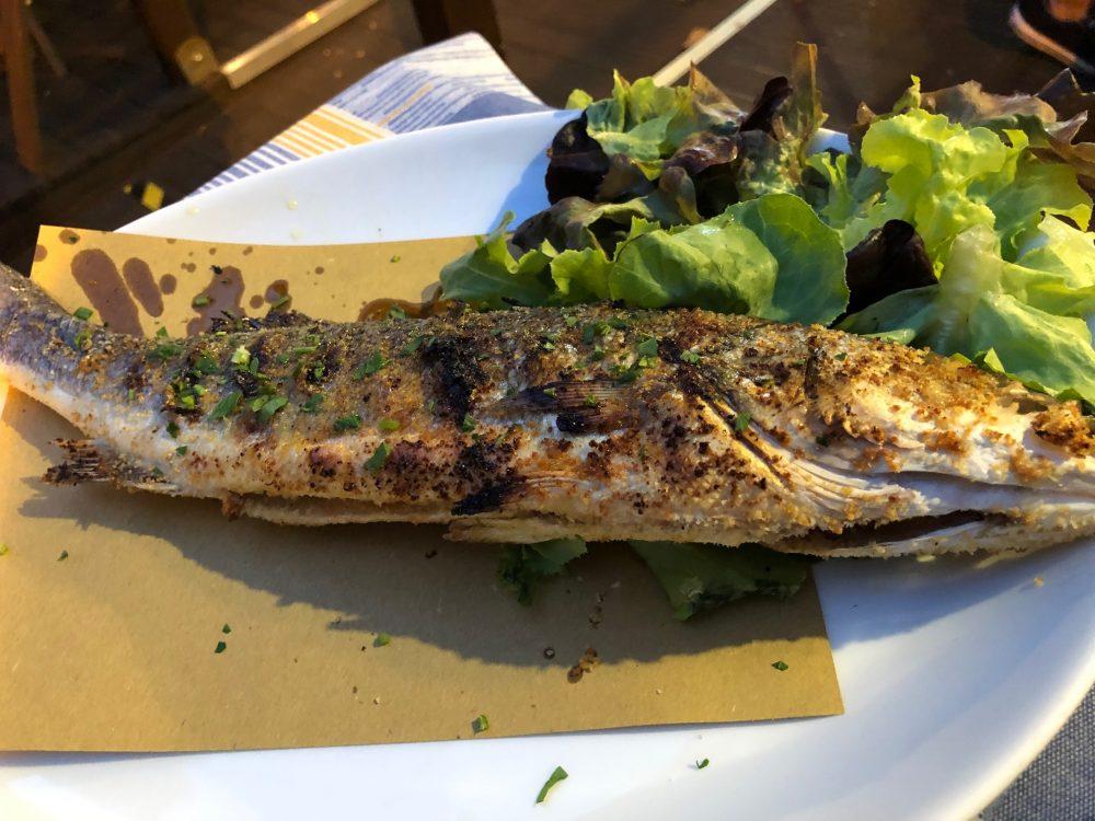 Rosmarino - Pesce alla griglia