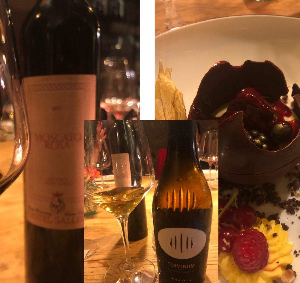 Vini dolci Terminum 2016 e Il Moscato Rosa Castel Sallegg