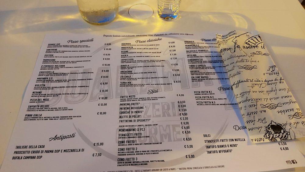 Guakamaya 2.0 i menu'
