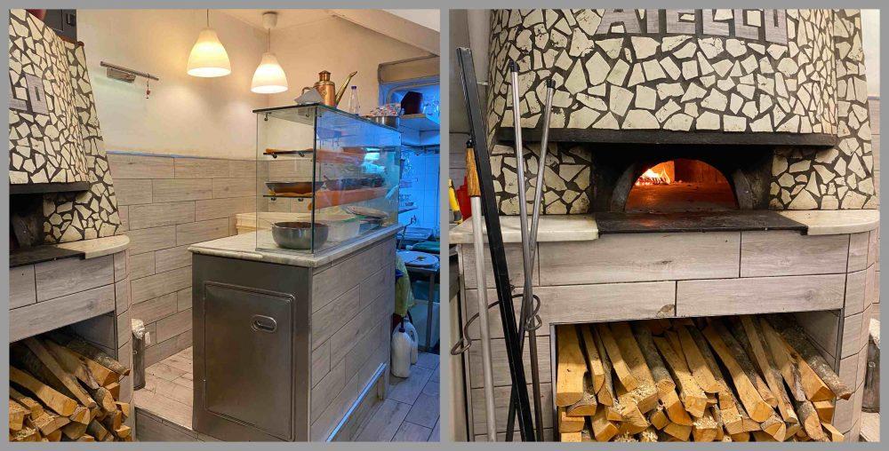 Antica Pizzeria Aiello - bancone e forno