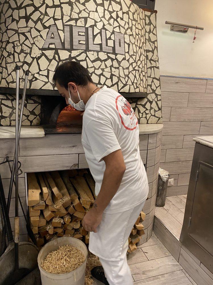 Antica Pizzeria Aiello - pizzaiolo Lino Fiore