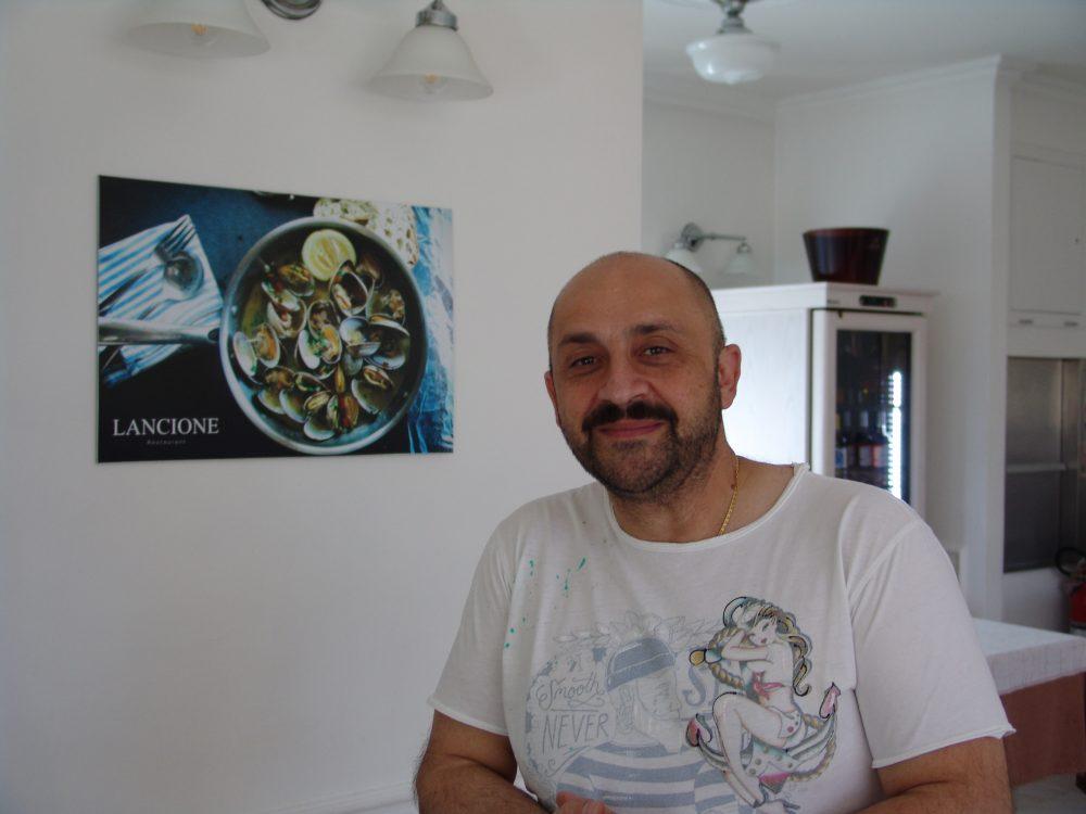 Antonio Laterza, cuoco e musicista