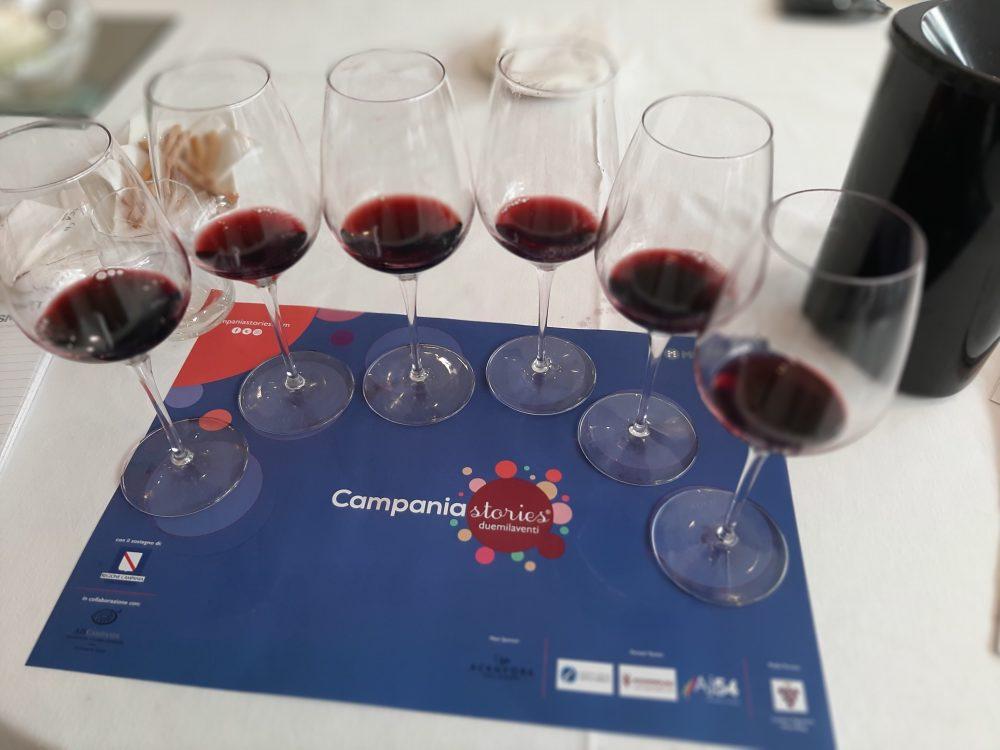 Campania Stories Vini rossi in degustazione