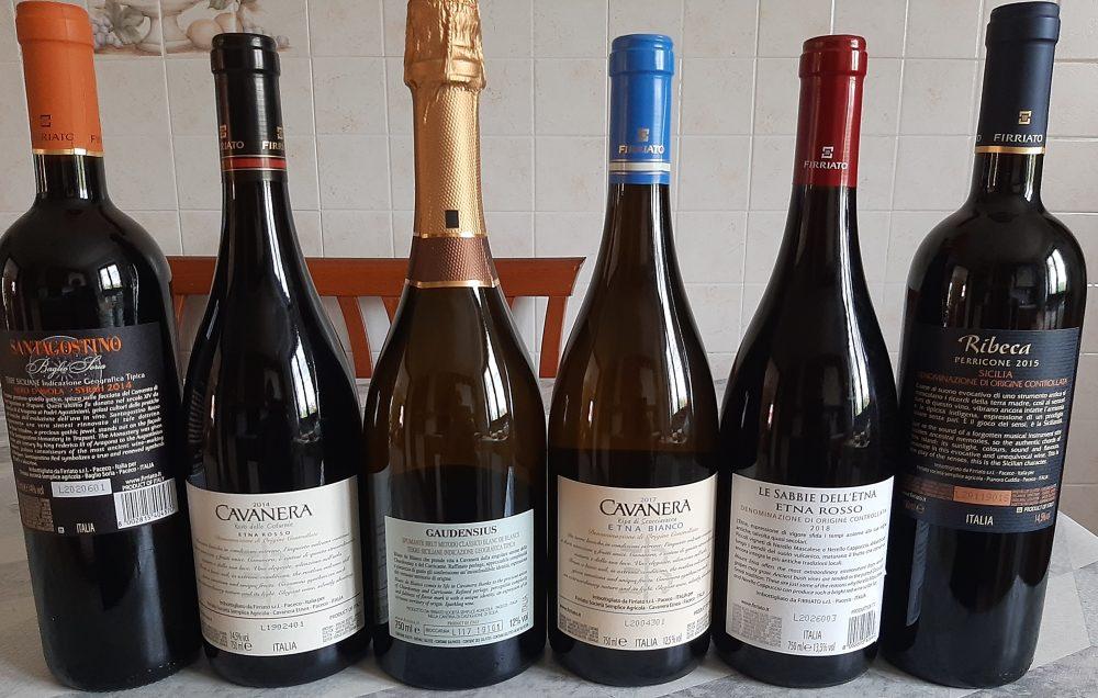 Controetichette vini Firriato