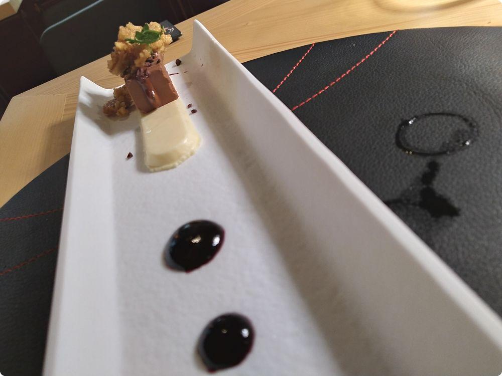 Dessert i due opposti - Ps ristorante