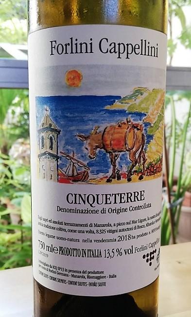 Forlini Cappellini – Cinqueterre Doc 2018