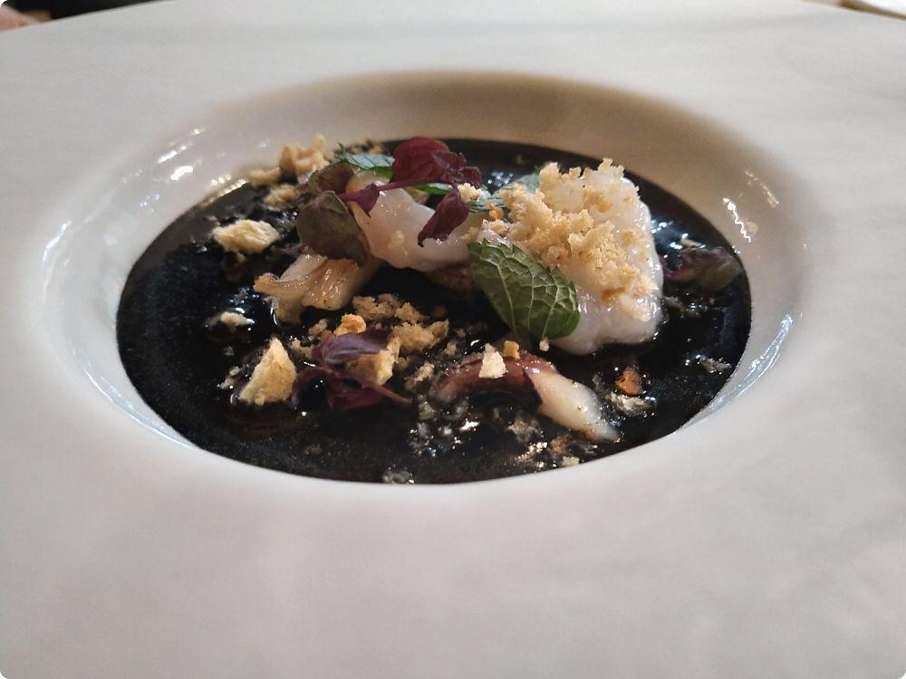 Gambero rosa e seppia nera - Ps ristorante