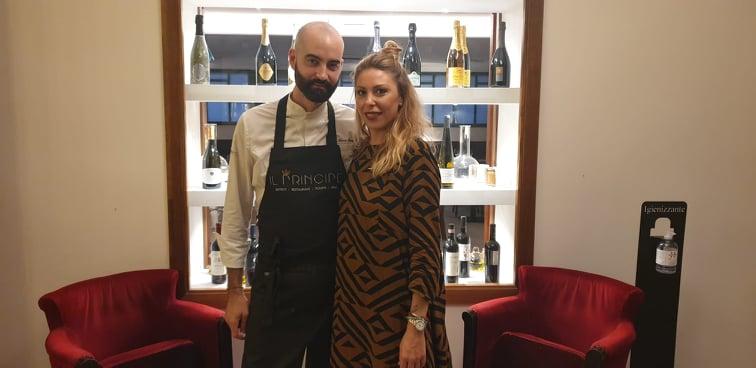 Il Principe, Gian Marco Carli con la compagna Claudia Langella